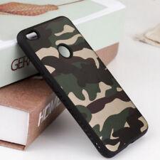 Huawei P8 LITE 2017 Cover MIMETICA Militare Morbida Custodia Silicone Camouflage