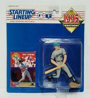 JEFF CONINE - FLORIDA MARLINS Starting Lineup MLB SLU 1995 Action Figure & Card