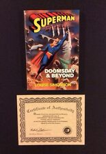 SUPERMAN DOOMSDAY & BEYOND Young Adult Version SC Book SIGNED Dan Jurgens COA