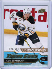 16/17 UD UPPER DECK UPDATE COLE SCHNEIDER #517 YOUNG GUNS RC EXCLUSIVES /100