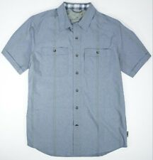 Royal Robbins size Medium M Short Sleeve Button Active Vista Dry Shirt New Nwt