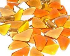 Verre Cristal Mosaïque Tuile Formes - Orange Lily