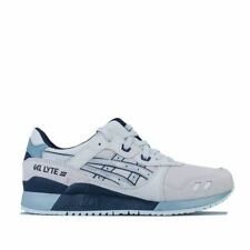 Men's Asics GEL-LYTE III Lace up Cushioned Trainers in Grey