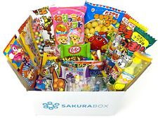 NEU! Sakura Box dagashi Set - 20 Stück japanische Süßigkeiten Schokolade Snacks ...