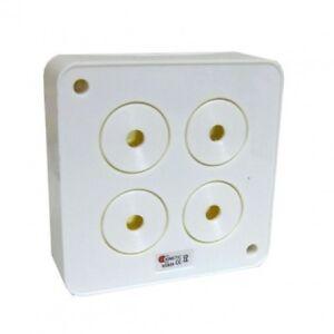 Wired Intruder Burglar Alarm Internal Four Piezo VERY LOUD Siren 12 Volt 111db