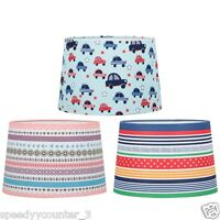"""New Room Decoration Kids Tapered Printed Cute Design LampShade 11"""""""
