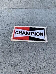 Champion Spark Plugs Clothes Patch Vintage 1978
