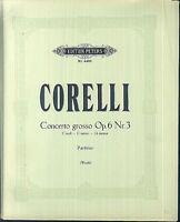 CORELLI ~ Concerto grosso Op. 6 Nr. 3 - Partitur plus alle Stimmen