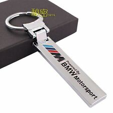 MOTOR SPORT Key Chain Fob Ring Stainless Steel Keychain for BMW M M3 M5 M6 X3 X5