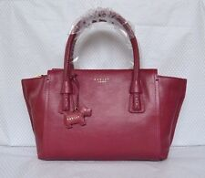 "Radley ""Wimbledon"" Dark Red Leather Multiway Bag BNWT RRP £179 New!"