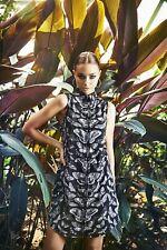 Black Milk Clothing - Lepidoptera Business Time Shirt Dress - S