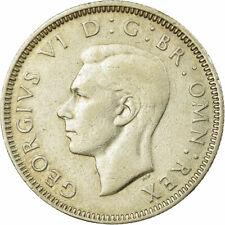 [#735294] Monnaie, Grande-Bretagne, George VI, Shilling, 1942, TTB, Argent