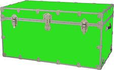 Rhino Storage Trunk Footlocker 40x22x20for Camp, College & Dorm. USA Made