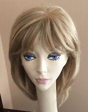 NWT! JACQUELYN Wig HUMAN HAIR Blend HB KATHY 16/22 BLONDE Monotop