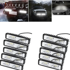 New listing 10pcs Ip65 12V 6 Inch 48W Led Suv Driving Work Lights Strip Spot & Flood Light