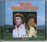 Tom Jones Engelbert Humperdinck Sing Country Favorites CD (Buy 3+ CD's Free Ship