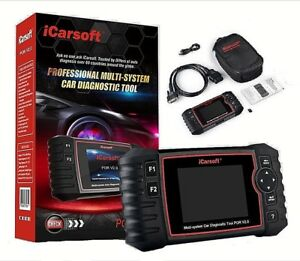 PORSCHE Diagnostic Scanner Tool AIRBAG ABS ENGINE BRAKE RESET iCarsoft POR V2.0