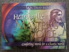 HEARING THE MASTER'S VOICE by Dr. David Jeremiah...Paper Back...Brand New