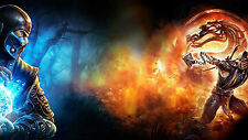 Mortal Kombat  -   Wall Poster - Huge  - 22 in x 34 in - Fast shipping