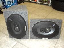 vw t4 t5 transporter 6x9 rear speakers camper van motorhome pair of 260w 3-ways!