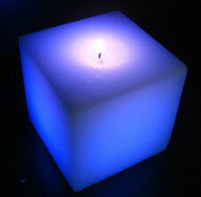 Wholesale Pack of 5 Color Changing Square LED Candle Light (REAL CANDLE)