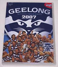 Geelong Cats AFL 2007 Season Highlights DVD New