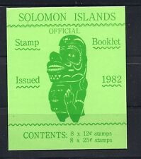 SOLOMON ISLANDS 1982 BOOKLET SB5