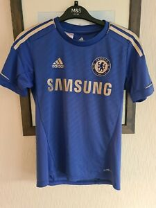 Chelsea FC Adidas Home Football Jersey Shirt - CHILDREN'S SIZE 13/14 YEARS