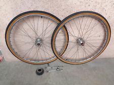 maxi car rigida roues 650 b & rfg, 36 trous vèlo randonneur bike alloy tire rims