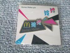 Sports memorabilia Olympics London 2012 Games Maker McDonald's