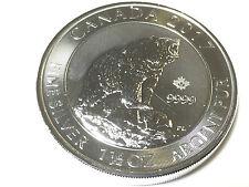 Kanada 1,5 oz Grizzly 2017 8 CAD 999 Silber Silbermünze Canada Bär Prägefrisch