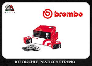 KIT DISCHI + PASTIGLIE FRENO BREMBO FORD FOCUS I° serie 1.8 TDCI DIESEL TDDI ANT