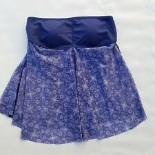 US Polo Assn Womens Purple Sleeveless Top Size Medium
