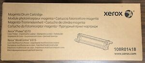 New Genuine Sealed Xerox Magenta Drum Cartridge for Phaser 6510 WorkCentre 6515