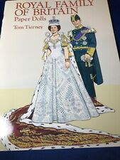 Tom Tierney Paper Doll Book ~ Royal Family of Britain ~ Unused/ Uncut