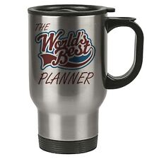 The Worlds Best Planner Thermal Eco Travel Mug - Stainless Steel