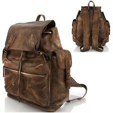 Man backpack Men bags Shoulder Bag Business Backpack Bag Cow Leather 5085 Camel