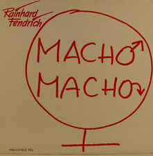 "RAINHARD FENDRICH - MACHO Macho 12"" MAXI SINGLE (j235)"