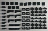 Lego Dark Bluish Gray Modified Plate Technic New 69 Parts Pieces Lot