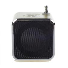 Mini TF Altavoz estereo USB Radio FM Music Player para PC MP3 iPhone 5S 5C N7W8