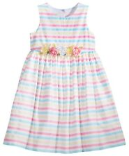 NWT Marmellata Striped Party Dress, Little Girls Size 5