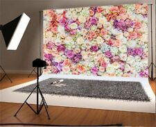 5x3ft Rose Flower Photography Backgrounds Studio Wedding Photo Shoot Backdrops