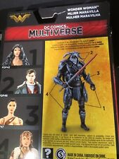 Ares Left Arm and Left Leg BAF Wonder Woman DC Multiverse Collect N Connect