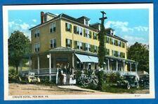Crouts Hotel, Pen-Mar, Pennsylvania - Early Postcard