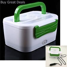 New Portable 12V Food Warmer Box For Car Truck Van Plug In Electric Lunch Warmer
