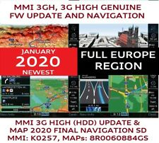AUDI Q5, Q7 MMI 3G UPDATE SET 2020 FINAL + MAPs, MMI 3G HIGH (HDD), 8R0060884GS