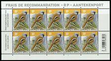10 timbres ** RP pour les Recommandés