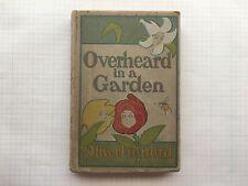 Oliver Herford. Overheard in a Garden. Et Coetera.N.Y. (1900) First Edition.