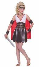 SEXY GLADIATOR COSTUME XS/SM Roman Warrior Princess Greek Halloween Cosplay B17