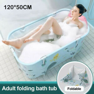 Portable Folding Bathtub PVC Water Tub Outdoor Room Spa Bath Tub Home For Adult